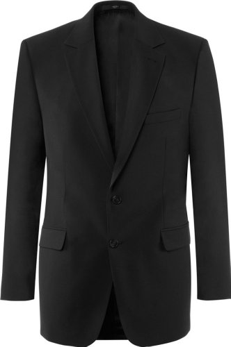 GREIFF Herren-Sakko Anzug-Jacke BASIC comfort fit - Style 1115 - schwarz - Größe: 46
