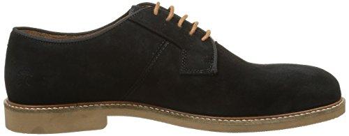 Faguo Rohner, Chaussures Lacées Homme Noir (F1630 Black)