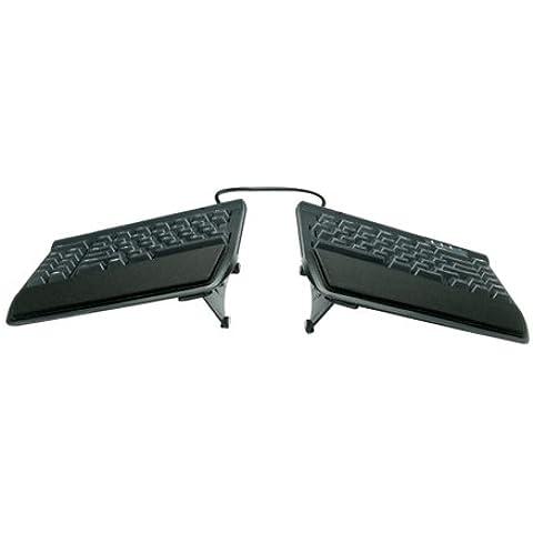 Kinesis VIP3 - Soporte elevador y reposamuñecas integrado para teclado ergonómico