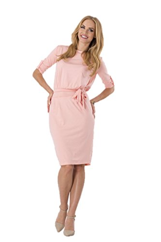 KingField - Robe - Crayon - Manches Courtes - Femme Rose