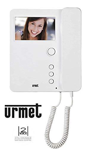 Urmet 1750/1interphone vidéo Miro à combiné + Support pour installations videocitofonici du système 2Voice