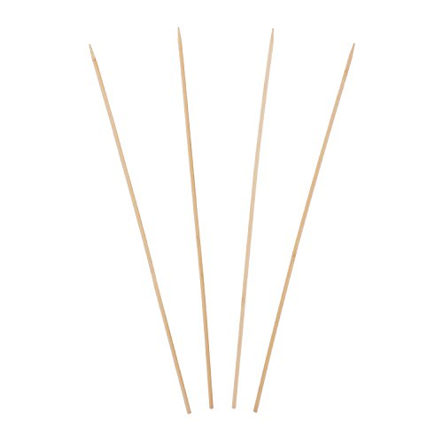 Royal 46 cm Round Bamboo Skewers, Pack of 100 -