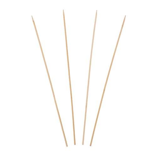 Royal Pique Brochette en bambou, 46 cm, Lot de 1 000