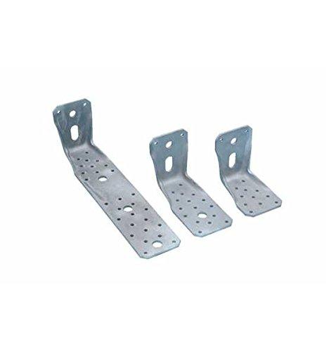 1 Stück Winkelverbinder 285x65x4,0 mm KR Kantrippe Lochwinkel Bau-Winkel Langloch LL mit Zulassung