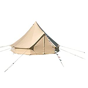 bell tent 4 metre with zipped in groundsheet by bell tent boutique
