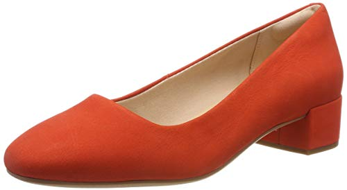Clarks Damen Orabella Alice Pumps, Orange (Orange Nubuck), 38 EU