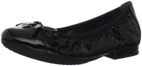 GEOX RESPIRA: Junior Mädchen Ballerina JR ANTHEA Black J2498G 000MM C9999 Black