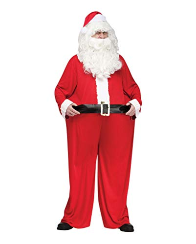 Horror-Shop Big Fat Santa Claus Fun-Kostüm für die Weihnachtsfeier