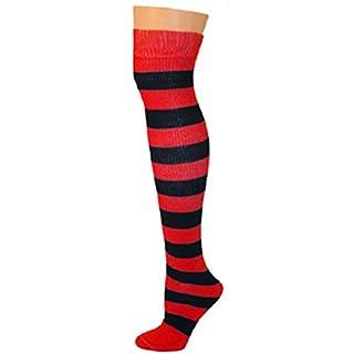 AJs Adult Striped Knee Socks -  Multi -