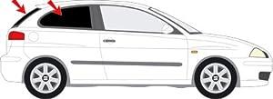 Vitres teintées SANS FILM SEAT Ibiza III 3 portes 2002 - 08 Art. 26035E-3 Solarplexius