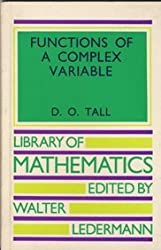 Functions of a complex variable (Library of Mathematics)
