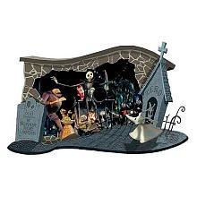 (NBX Diorama - Wall Hanging Halloween)