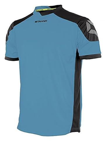 Stanno Men's Campione Short Sleeve Football Shirt Aqua Blue /