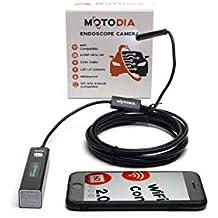 Motodia E2 Endoskop, Wireless mit WiFi für iPhone und Andriod, 3.5m
