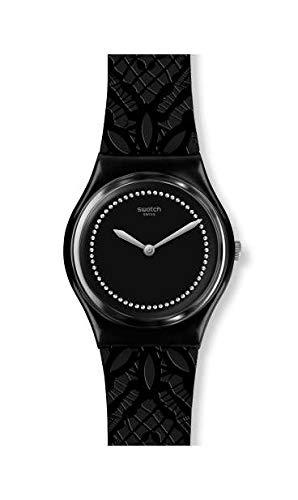 Swatch Orologio Analogico Quarzo Svizzero Donna con Cinturino in Silicone GB320