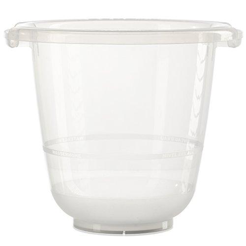 tummy tub das Original - Badeeimer kippsicher, rutschfest und schadstofffrei, transparent