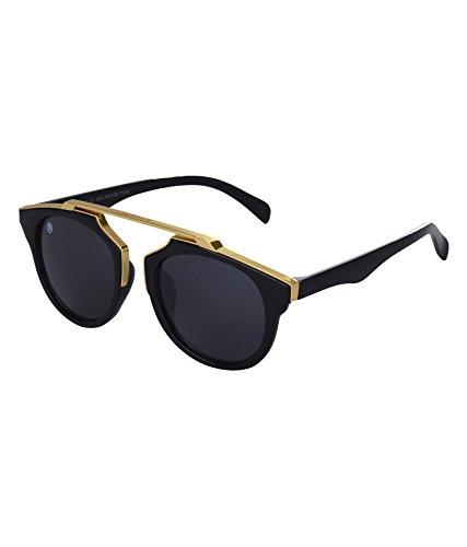 MarkQues Hope Oval Sunglasses (Golden) (HOP-550801PL)