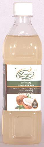 Vaagai Cold (Wood) Pressed Coconut Oil - 1 LTR