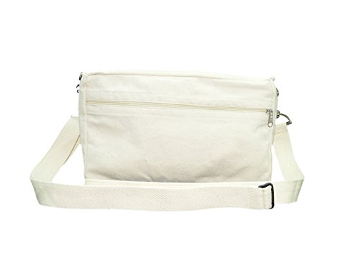 Rawbags 'Messenger Bag/Hand Bag/Cross Over Shoulder Wallet Bag' 100 % Cotton ,Eco Friendly Bio Degradable Canvas...