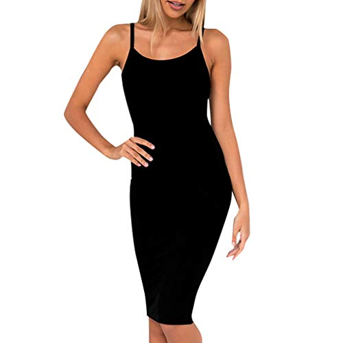 leid Einfarbig Trägern Unterröcke Slim Fit Sexy Negligee Nachtkleid Full Slip Miederkleid Nachthemd Nachtwäsche für Frauen ()