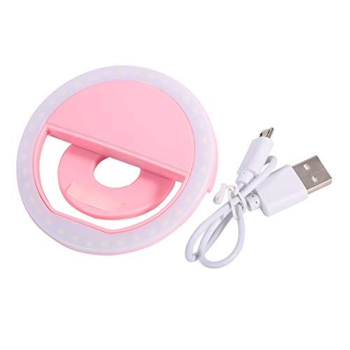 SG11 Mini Wiederaufladbare Telefon LED Selfie Lampenringlicht Ringlicht Enhancing Fotografie Nachtlicht