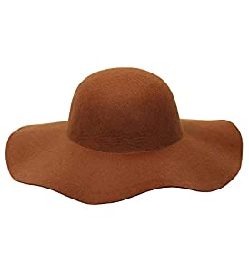 WIDMANN 68581?Gorro para Mujer, Color marrón