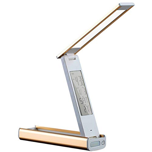 Tischlampe, Augenschutz, Blaulichtbeständigkeit, zusammenklappbar, abblendbar, USB, Touch-Steuerung, zum Lernen, Lesen, kabelloses Laden von Bürohandys, (Monatlich Kalender-buch)