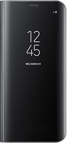 Samsung Mobile EF-ZG950CBEGWW Galaxy S8 Clear View Standing Cover, Nero