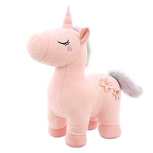yuailiur Peluche de Unicornio Agnes