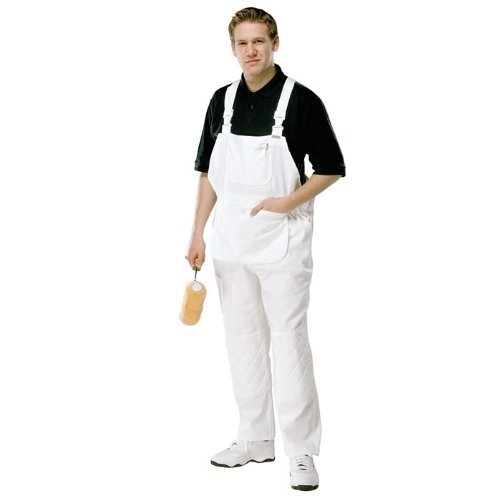 prodec-painters-decorators-white-work-bib-and-brace-overalls-coveralls-with-quilted-knee-and-kneepad