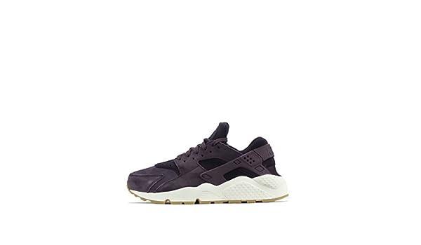 Nike air huarache run sd donna scarpe sportive in camoscio viola