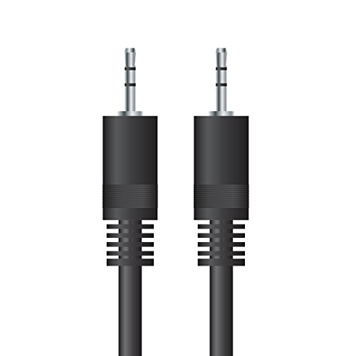 CSL 1,5m HQ Stereo Klinkenkabel / Verbindkungskabel | High Quality Audio 3,5mm Klinken Stecker zu 3,5mm Klinken Stecker | geeignet für Handys, Smartphones, iPhone, iPad, iPod, Tablets, MP3- Player, CD-Player, Walkman, Desktop-PC, Notebook, Autoradios und Hifi-Anlagen | 1,5 Meter | schwarz - Mp3-player Desktop