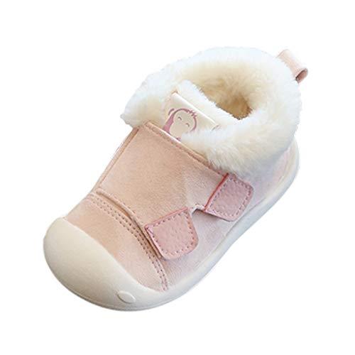 Luckycat Zapatos de bebé, Zapatillas de bebé niño Anti-Slip Suave Suela de Encaje Zapatos Invierno...