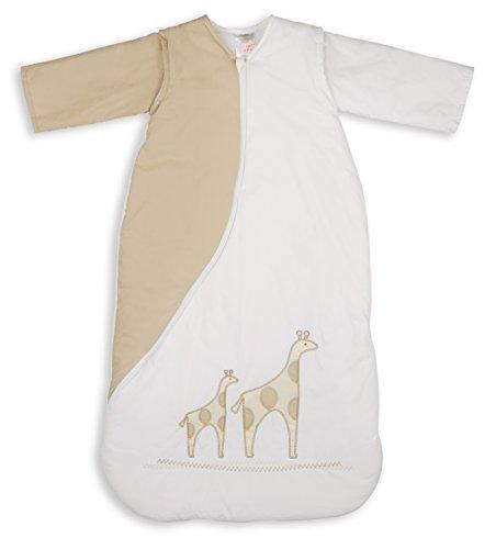 PurFlo PUR PS1GIRNAT90 gestickte SleepSac 1 Tog, 9-18 Monate, giraffe natur