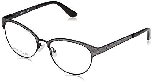 Guess Unisex-Erwachsene GU2617 005 51 Brillengestelle, Schwarz (Nero),