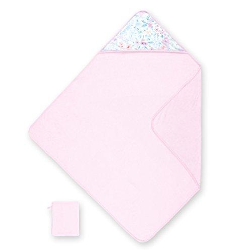 Bemini 370APRIL54TU Kapuzenhandtuch terry plus jersey APRIL 54 cristal, L, rosa