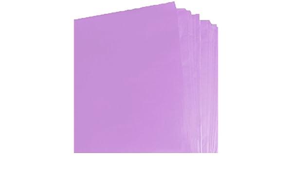 Qualità Color Viola Carta Velina Senza Acidi FOGLI 750mm x 500mm
