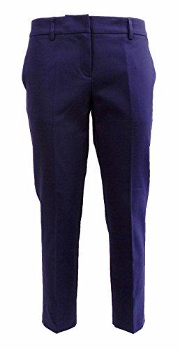 Pantalone Donna TWIN SET SA62AC Cotone tecnico Slim fit Autunno Inverno 2016 Blu L