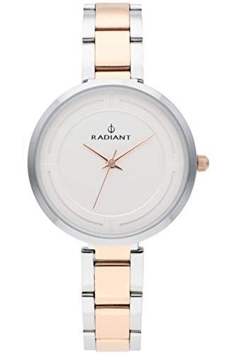 Radiant tatiana orologio Donna Analogico al Al quarzo con cinturino in Acciaio INOX placcato RA488202
