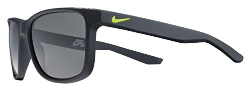 Nike Herren Flip Ev0990 077 53 Sonnenbrille, Schwarz (MttBlckW/GryLns),