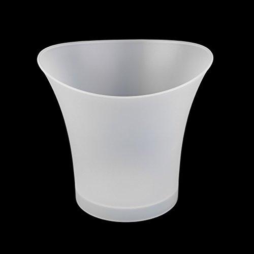 Wasserdichter Kunststoff LED Eiskübel Laluminious Cool KTV Bars Night Party Praktische Küche Gadget 5 L