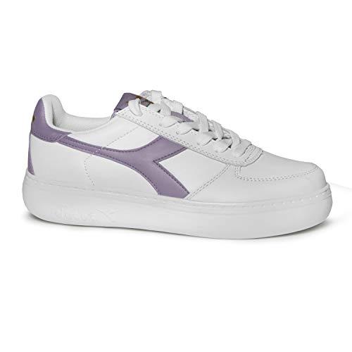 Diadora Scarpe Sneaker Donna Modello B.Elite Wide (Pristine Wisteria - 36) e5e6dc6fd98