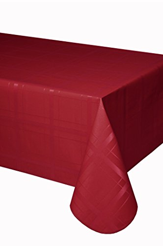 Mantel antimanchas Cuadros 50%algodón 50%poliéster con doble protección de resina y Teflón...