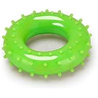 Grip Strengthener Massager Finger Force Ring Finger Strengthener Fortalecedor de Agarre de Mano Ejercita tu Dedo 30kg (Verde) (Color : Green, tamaño : 15x11x2.2cm)