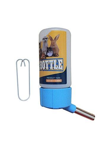 Satispet hamster automatico antigoccia bottiglia di acqua 115ml–piccolo animale no-leaking acqua dispenser–salvagoccia rodent pet water drinker–antigoccia acqua feeder per topi coniglio scoiattolo