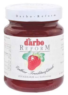 Darbo Reform Konfitüre - Erdbeer - 6 x 330 g -