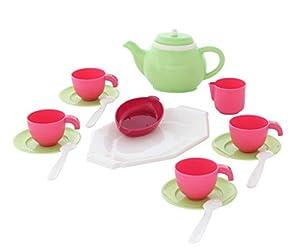 Polesie 61560 - Juego de té para Cuatro Juguetes de Cocina