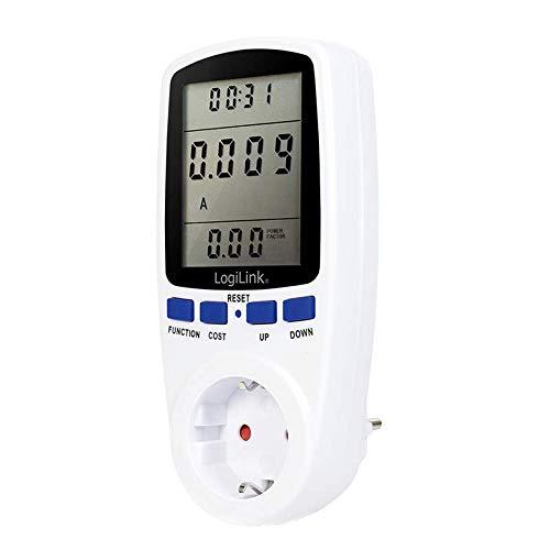 LogiLight EM0003 Energiekosten-Messgerät, 7 Funktionen