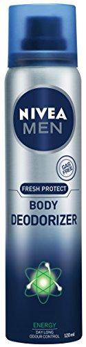 Nivea Men Fresh Protect Body Deodorizer Energy, 120ml