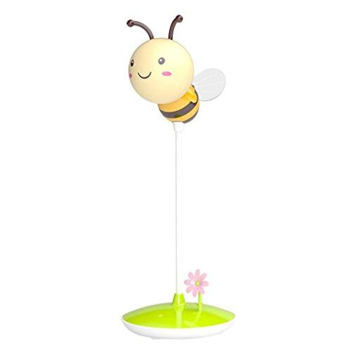 Biene Nachtlicht ,Jaminy Modern Bumble Bee Light In Gelb/Pink FÜR Jeden Jungen Oder Mädchen Schlafzimmer (Gelb) ()